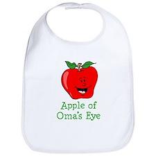 Apple of Oma's Eye Bib