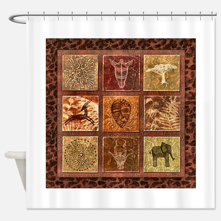 ... Shower Curtains | African American History Fabric Shower Curtain Liner