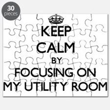 Keep Calm by focusing on My Utility Room Puzzle
