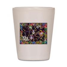 Best Seller Mardi Gras Shot Glass