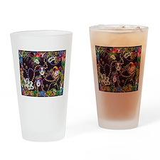 Best Seller Mardi Gras Drinking Glass