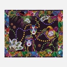 Best Seller Mardi Gras Throw Blanket