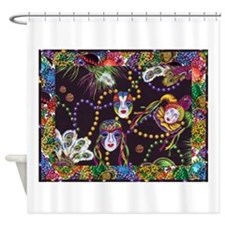 Best Seller Mardi Gras Shower Curtain