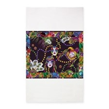 Best Seller Mardi Gras 3'x5' Area Rug