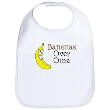 Bananas Over Oma Bib