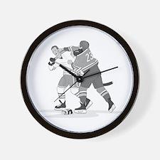 Cool Ice hockey Wall Clock