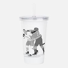 Cute Hockey Acrylic Double-wall Tumbler