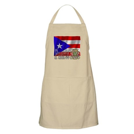 Silky Flag Puerto Rico BBQ Apron