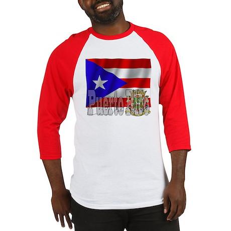 Silky Flag Puerto Rico Baseball Jersey