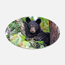 Baby Black Bear Wall Decal