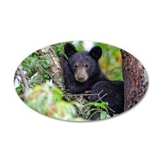 Baby Black Bear Wall Decal