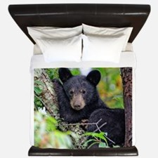 Baby Black Bear King Duvet