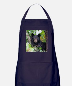 Baby Black Bear Apron (dark)