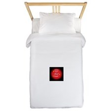Whitmage's Can't Heal Stupid Twin Duvet