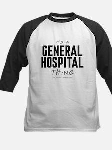 It's a General Hospital Thing Kids Baseball Jersey