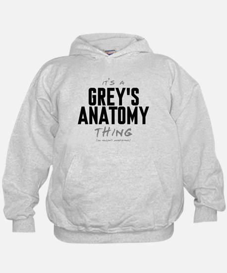 It's a Grey's Anatomy Thing Kid's Hoodie