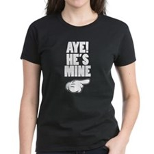 Aye He's Mine & Aye She's Mine Couples Design T-Sh