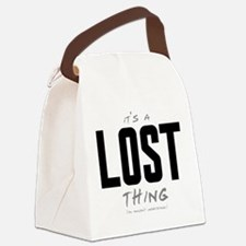 It's a LOST Thing Canvas Lunch Bag