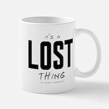 It's a LOST Thing Small Small Mug