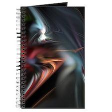 Red Misty Fractal Journal