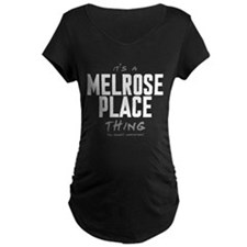 It's a Melrose Place Thing Dark Maternity T-Shirt