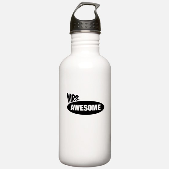 Mr. Awesome & Mrs. Awesome Couples Design Water Bo
