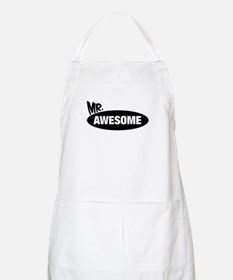 Mr. Awesome & Mrs. Awesome Couples Design Apron