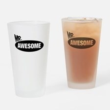 Mr. Awesome & Mrs. Awesome Couples Design Drinking