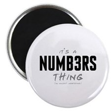 It's a Numb3rs Thing Magnet
