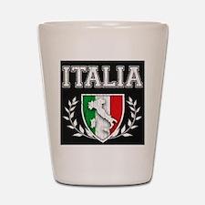 Vintage Italian Crest Shot Glass.