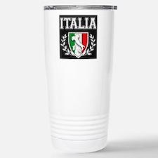 Vintage Italian Crest Travel Mug