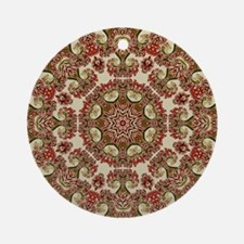 Old Nature Kaleidscope Ornament (Round)
