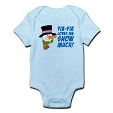 Yia-Yia Loves Me Snow Much Body Suit