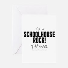 It's a Schoolhouse Rock! Thing Greeting Cards (20
