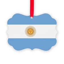 Argentina Flag Ornament