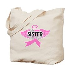 Funny Breast cancer Tote Bag