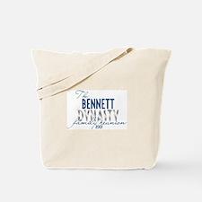 BENNETT dynasty Tote Bag
