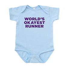 Worlds Okayest Runner - Purple Body Suit