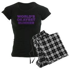 Worlds Okayest Runner - Purp Pajamas