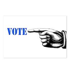 vote 1 Postcards (Package of 8)