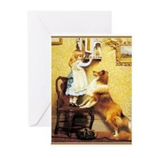 Cute Victorian Greeting Cards (Pk of 20)