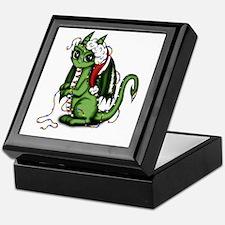 Christmas Dragon Keepsake Box