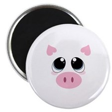 Pig Face Magnets