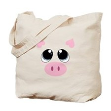 Pig Face Tote Bag