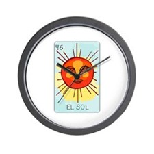 El Sol Wall Clock