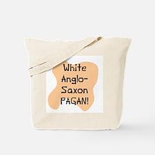 White anglo saxon pagan Tote Bag