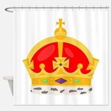 Kings Crown Shower Curtain