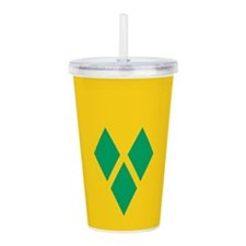 St Vincent Grenadines Acrylic Double-wall Tumbler