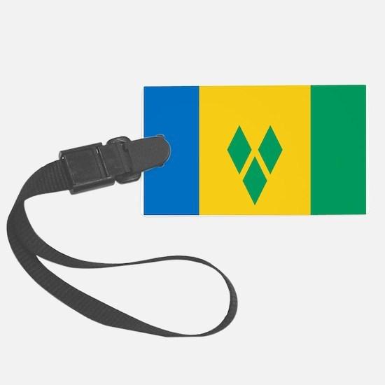 St Vincent Grenadines Flag Luggage Tag