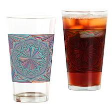 Pin Stripe Wheel Drinking Glass